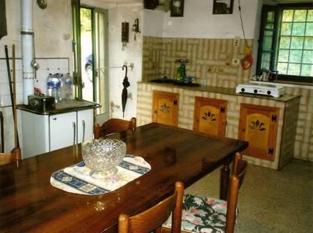 L'antica fattoria, cucina con camino